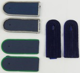 DDR East German Misc. Shoulder Boards-3 pair