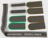 DDR East German NVA Wachregiment Friedrich Engels Cuff Title/Shoulder Boards-4 pair