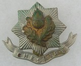 The Cheshire Regt Cap Badge 1898-1922
