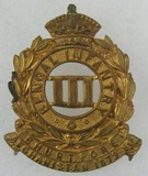 Pre 1903 Indian Army 3rd Bengal Infantry  Cap Badge
