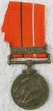 India Sainya Seva Medal with Clasp - Bengal and Assam-Named
