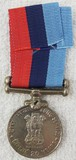 India 20 Years Long Service Medal-Named