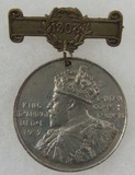 King Edward Medal 1902 London County Council - Named