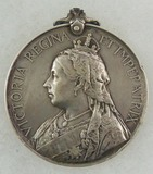 Queen's South Africa Medal 1899-1902 - .800 Silver - Named