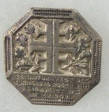 Rare Pre-WW1 August 9 & 10 1913 Gau Badge