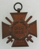 WW1 German Honour Cross 1914-1919