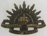 WW1/WW2 Australian Commonwealth Military Forces