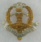 Middlesex Regiment (Duke of Cambridge's Own) Cap Badge