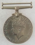 WW2 British Silver War Medal