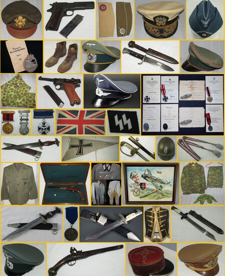 MILITARY COLLECTIBLES AUCTION  JULY 14, 2020 5pm