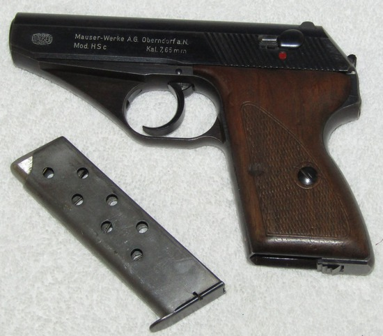 Mauser HSC Pistol With Kriegsmarine Markings-All Numbers Match