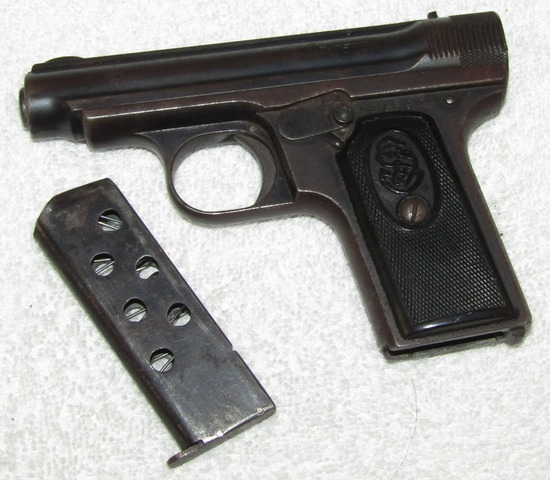 Rare Very Early Production JP Sauer M1926 Commercial Model 7.65 Cal. Pistol