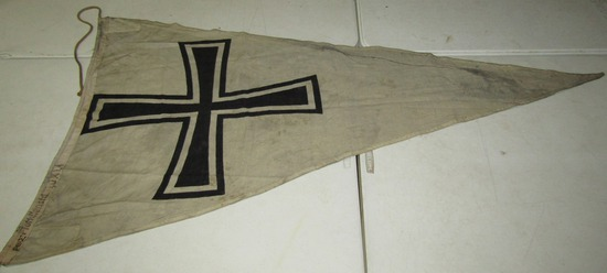 Rare WW2 Period Kriegsmarine Flotilla/Group Pennant