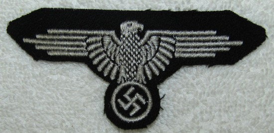 "Waffen SS Sleeve Eagle For Enlisted-""Hammerhead"" Version"