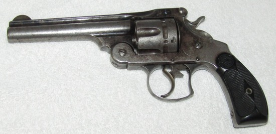 Ca. 1880's Smith & Wesson 1st Model Frontier Double Action Top Break .44-40 Revolver-Matching #'s