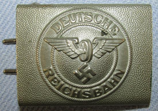 Scarce Early Deutsche Reichsbahn Belt Buckle