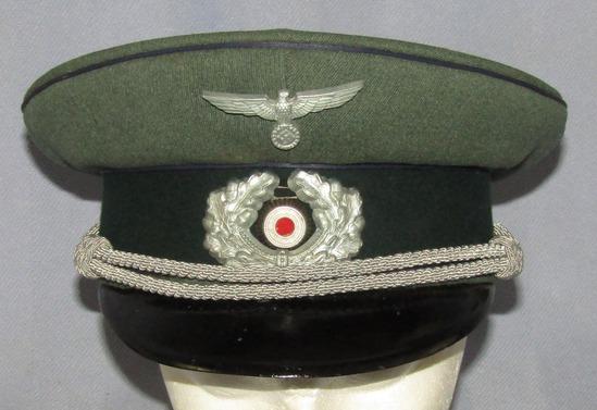 Mid War Medical NCO/Officer's Visor Cap