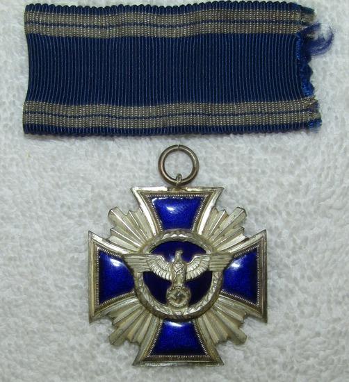 2nd Class NSDAP Long Service Award Medal-15 Years Service