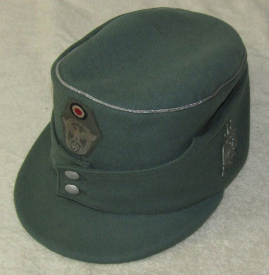 Nazi Gebirgsjager Officer's M43  Police Cap