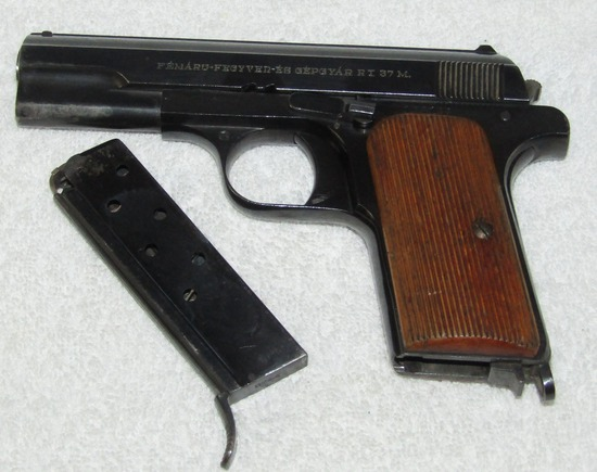 Model 37M Femaru Pistol W/Clip-Early Version Without Safety