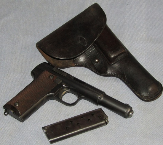 Astra Model 600/43 9mm Pistol With 2 clips/Holster