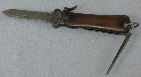 2nd Model Fallschirmjager Breakdown Gravity Knife-RBNr.
