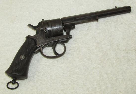 Civil War Period Belgian Pinfire Pistol