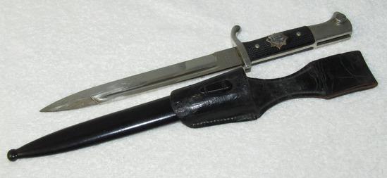 Short Model NCO Dress Bayonet With RLB Grip Insignia
