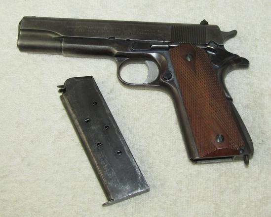 Scarce Colt M1911 Commercial Model Pistol-1937 Serial Number