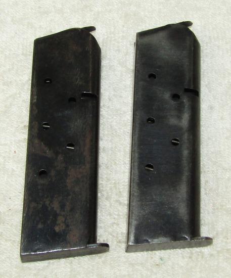 2pcs-WW2/Earlier M1911/M1911 A1 .45 Pistol Clips