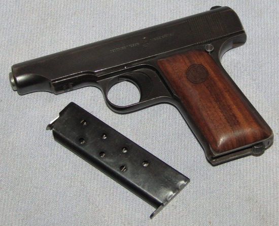 Ca. 1920's Ortgies 7.65 Cal. Semi-Automatic  Pistol-Same Type Used By John Dillinger!