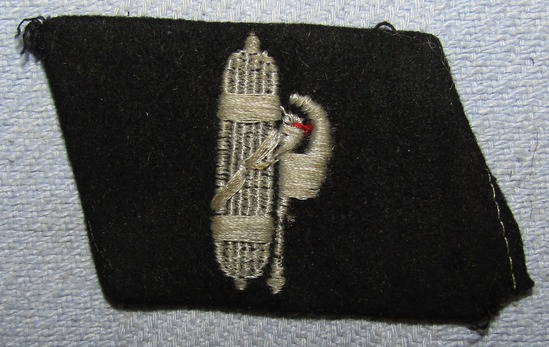 SS Foreign Volunteer Collar Tab For Enlisted- Worn By Italian Volunteers-From Vet Estate