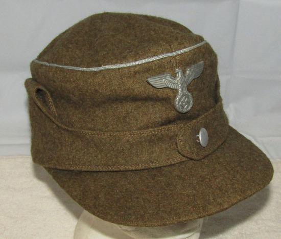 Rare Early WW2 Period SA Wehrmannschaft Officer's M43 Type Cap