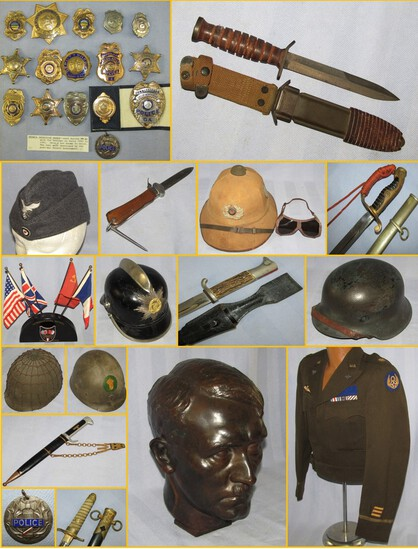 MILITARY COLLECTIBLES AUCTION  DEC. 8, 2020 5pm