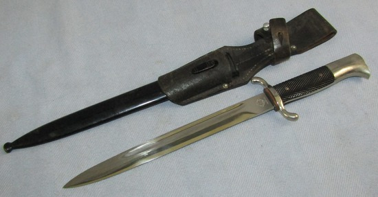 WW2 German Fire Police Short Model Dress Bayonet W/Scabbard-By PUMA
