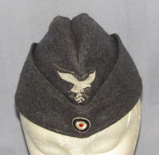Minty Luftwaffe Enlisted Garrison Cap-RB Numbered