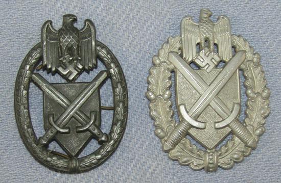 2pcs-WW2 Period German Army Marksman Lanyard Devices