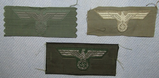 3ps-WW2 Period Embroidered Wehrmacht M43 Cap Eagles