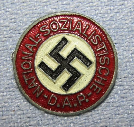 Painted Zinc Alloy Version NSDAP Party Pin-M1/17 For Assmann