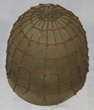 Early WW2 M1 Helmet Liner By Inland With Unique Netting