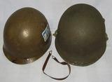 Fixed Bale M1 Helmet W/Westinghouse Liner-II Corps-Named