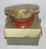Named WW2 US Army/Army Air Corps Officer's Visor Cap-