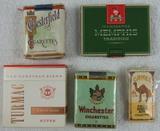 5 Packs WW2 Period Unopened Cigarette Packs