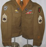 WW2 U.S. 1st Infantry Division And 79th Infantry Division Ike Jacket For Enlisted