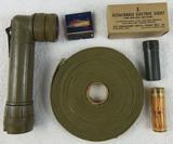 5pcs-Late WW2/Vietnam War Period U.S. Soldier Survival Items