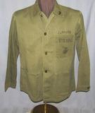 WW2 Period USMC P41 HBT Utility Jacket-Named-Size 38