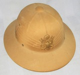 WW2 U.S. Army Officer's Pith Helmet With Officer's Eagle Device