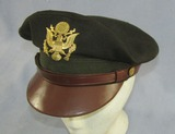 WW2 Period U.S. Army/Air Corp Officer's Visor Cap-