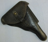 Scarce WW2 Period Nazi Police Luger Holster-Unit Markings