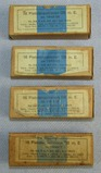 4 Packages Of 16 Each 9mm WW2 German Luger/P38 Pistol Cartridges